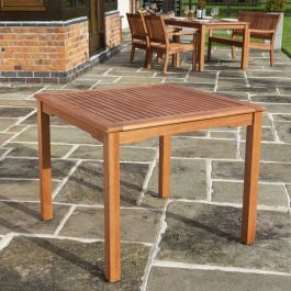 0.9m Willington Square Hardwood Table FSC™ by Rowlinson®