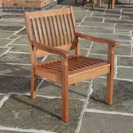0.87m Willington Hardwood Chair FSC™ by Rowlinson®