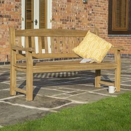 1.5m (4ft) Tuscan Hardwood Bench FSC™ by Rowlinson®