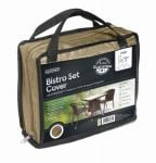 Gardman 150cm x 70cm Square Bistro Set Furniture Cover - Beige