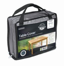 Gardman 170cm x 94cm 6 Seater Rectangular Table Furniture Cover - Grey