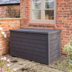 Norfolk Leisure XXL Resin Deck Box In Anthracite