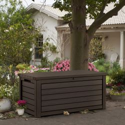 Norfolk Leisure Hingham Resin Storage Box In Dark Brown
