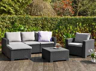 Norfolk Leisure Handpicked Moorea Chaise Set In Graphite
