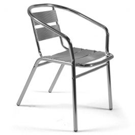 Aluminium Stacking Outdoor Dining Chair
