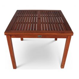90cm Devon Hardwood Square Table