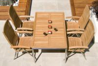 Alexander Rose Avant 160cm Teak Garden Table