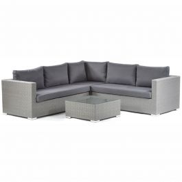 Oasis Rattan Outdoor Corner 5 Seater Sofa Set