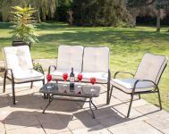 Hadleigh 4 Seater Garden Sofa Set with Coffee Table by Hectare™
