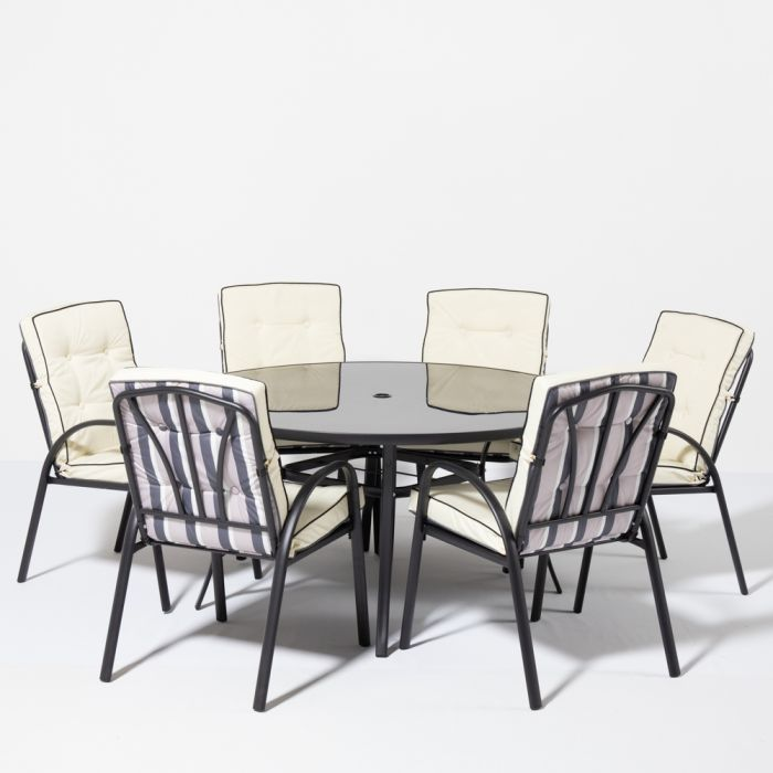 Kennet 1.40m Round Table - Black - By Hectare™