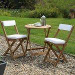 Neutral Raffles Bistro Set
