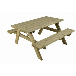 Whitby 6 Seater Folding Picnic Table