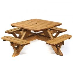 Ambleside 8 Seater Picnic Table
