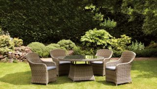 Wentworth 4 Seater Imperial Rattan Dining Set
