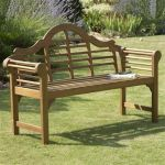 4ft 11in Natural Lutyens-Style Garden Bench