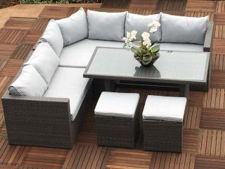 Marlow 6 Piece Rattan Dining Set