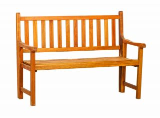 St Andrews 2 Seater Wooden Folding Bench
