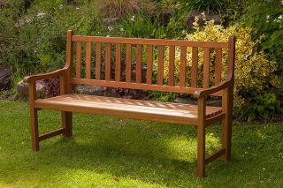 St Andrews 3 Seater Wooden  Folding Bench