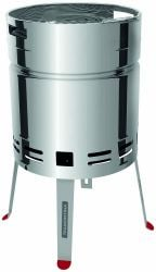 75.5cm Stainless Steel Beer Barrel Grill