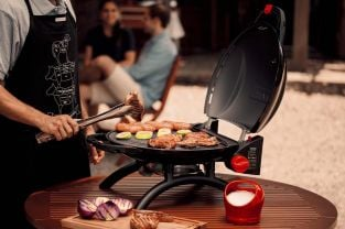 Carbon Steel Gas BBQ Grill