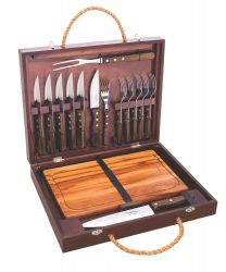 Stainless Steel 16 Piece Cutlery and Carving Set