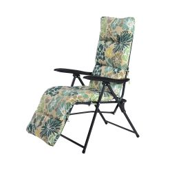 Hadleigh Pair of Floral Pattern Recliner Lounger Chairs by Hectare®
