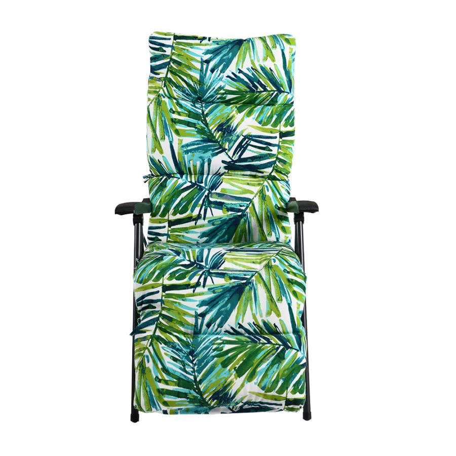 Hadleigh Leaf Pattern Recliner Lounger Chair by Hectare®
