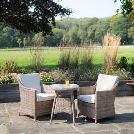 Luxury Rattan Bistro Set by Primrose Living