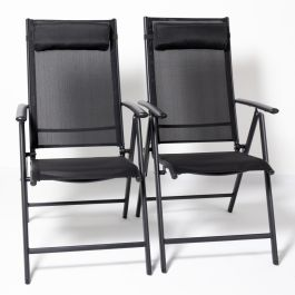 Kennet Set Of 6 Reclining Dining Chairs In Black By Hectare™