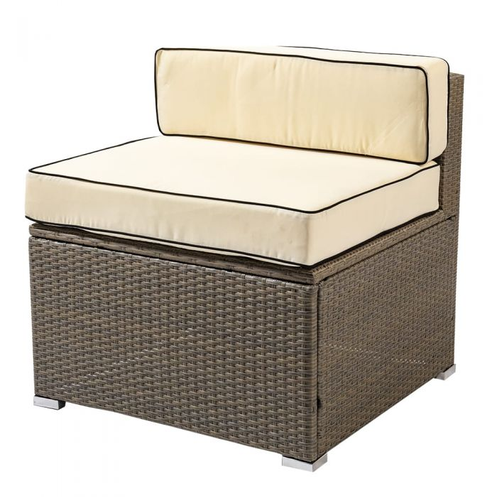 Sherborne Rattan Single Chair - Mixed Brown - by Asha™