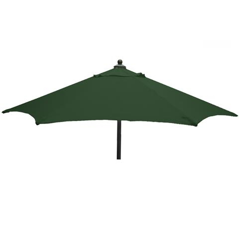Glencrest Aluminium Sturdi Plus Round Push Up Parasol in Green - W2m