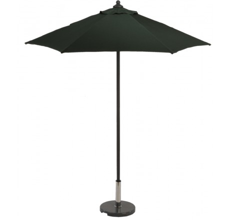 Glencrest Aluminium Sturdi Plus Square Push Up Parasol in Green - W2m