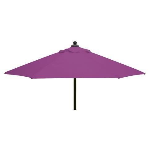 Glencrest Aluminium Sturdi Plus Square Push Up Parasol in Plum - W2m