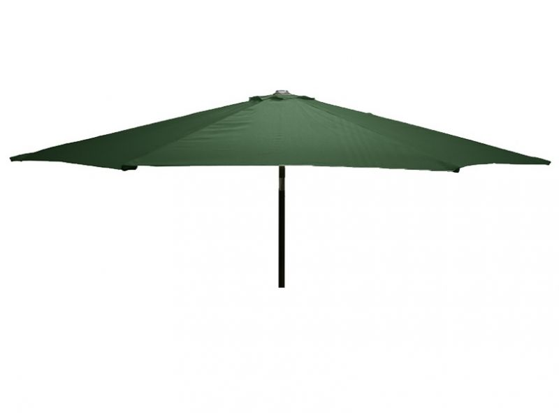Glencrest Aluminium Sturdi Plus Round Crank Parasol in Green - W3m