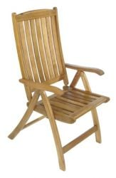 Acacia Turnbury Reclining Garden Chair