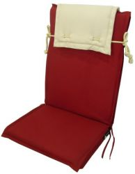 Antigua Recliner Chair Cushion Baguette Model with Head Rest