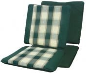 Amazon Green Seat and Back Rest Chair Cushions