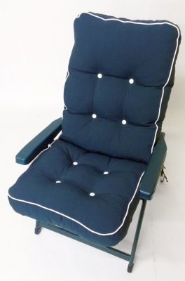 Tivoli Super Deluxe Recliner Chair in Hunter Green W69cm x L128cm