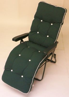 Milan Deluxe Automatic Relaxer in Green and Hunter Green W60cm x L157