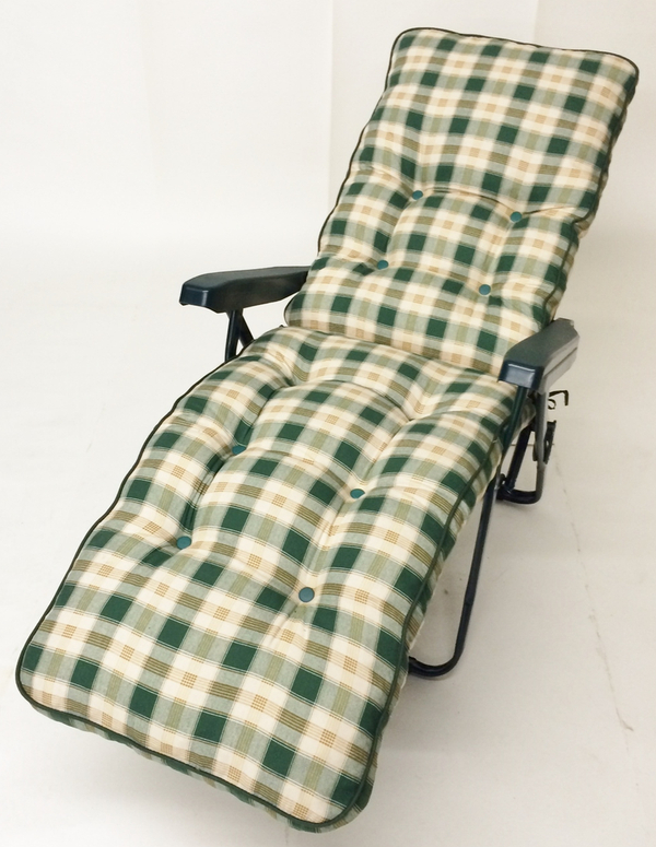 Milan Deluxe Automatic Relaxer in Green and Pavia Check