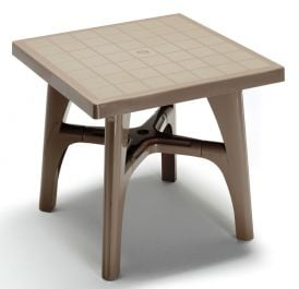 SCAB Quadramax Square Resin Table 80cm