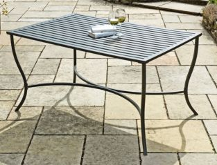 Provence Steel Dining Table