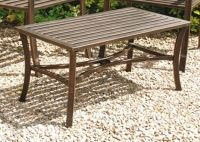 Rose Antiqua Cast Steel Garden Coffee Table
