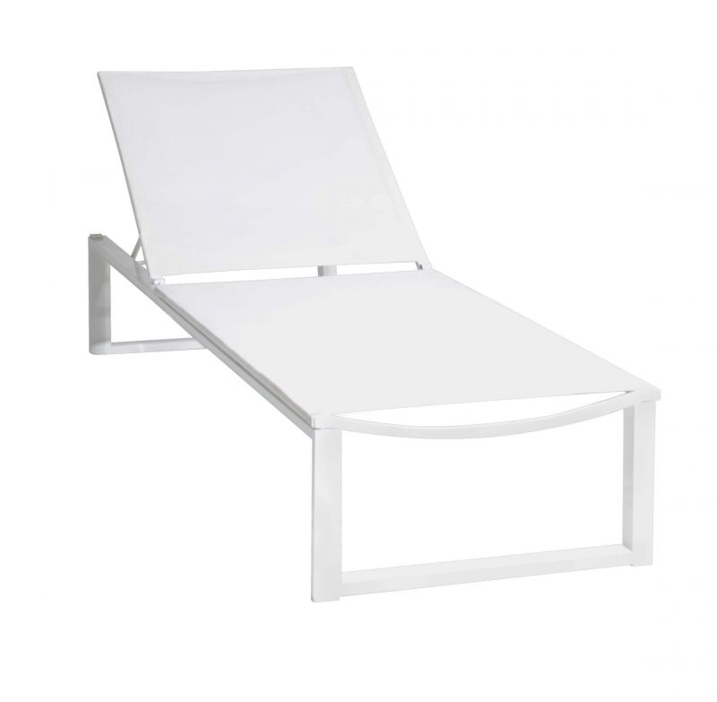 Dolphin Lounger with Side Table
