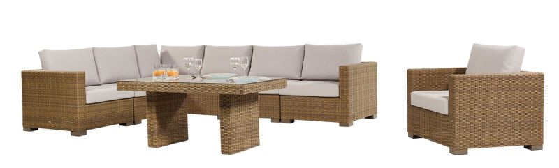 Maui High Dining Corner Set