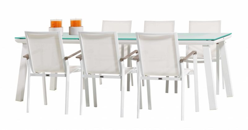 Pandora Six Seat Dining Set