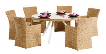 Prima Six Seat Dining Set