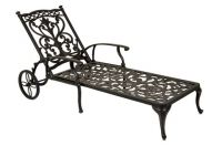 Idle Rose Ornamental Chaise Longue with Cushion
