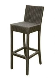 Quattro Wicker Brown Garden Bar Stool
