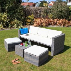Oseasons Mayson 5 Seater Garden Furniture Lounge Set